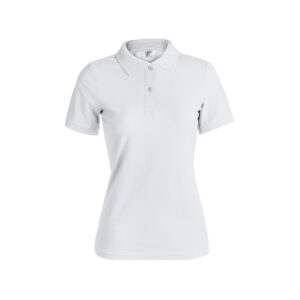 "WPS180-Polo Mujer Blanco ""keya"""