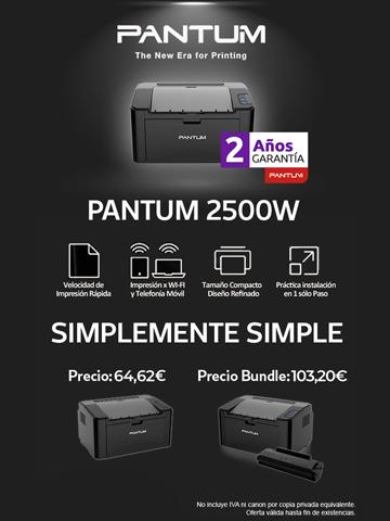 Figurex Impresoras Pantum